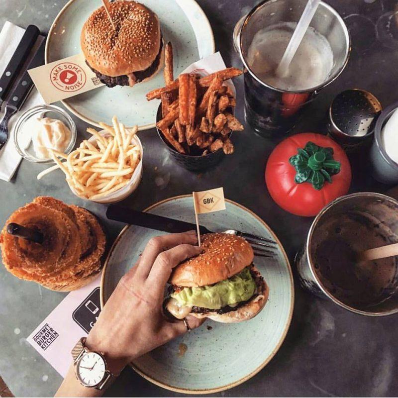 Kitchen Garden London: Gourmet Burger Kitchen