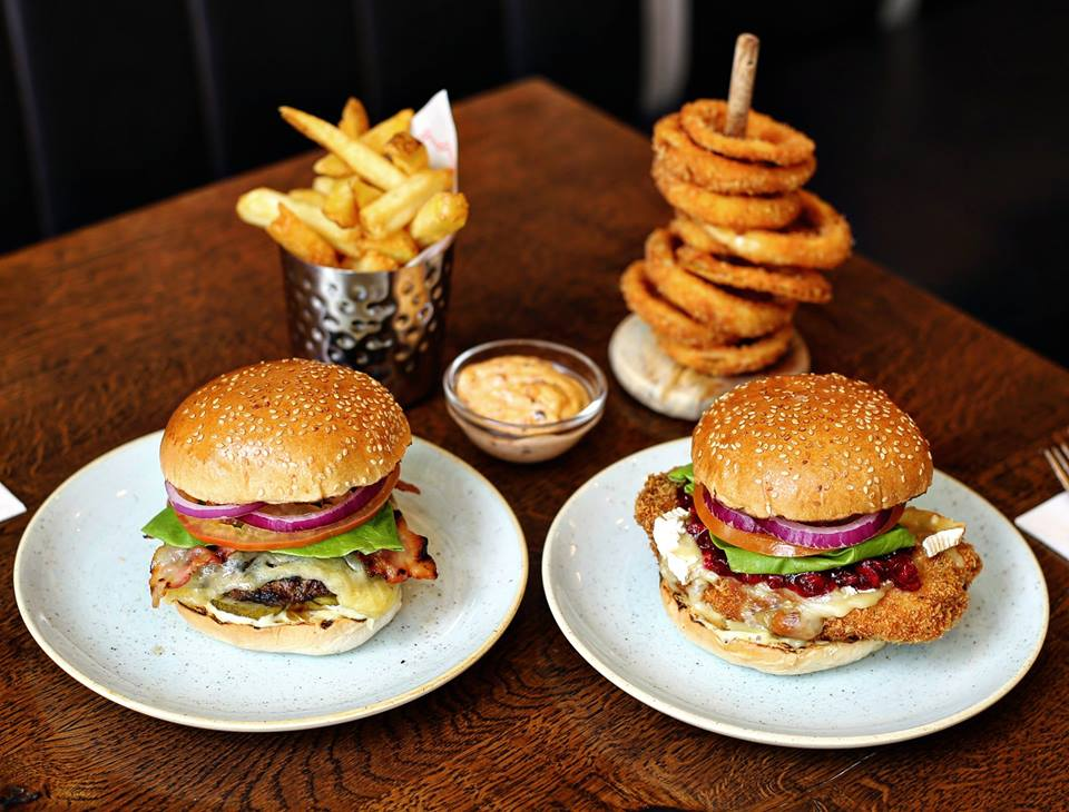 Gourmet Burger Kitchen Covent Garden London