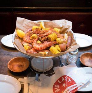Big Easy Bar.B.Q & Crabshack Covent Garden Restaurant