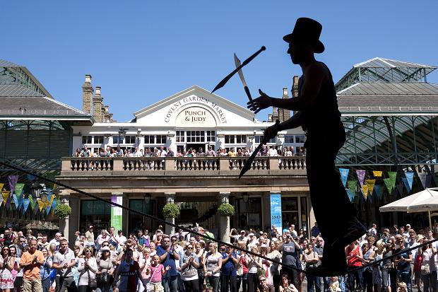 Covent Garden Street Performers Covent Garden London