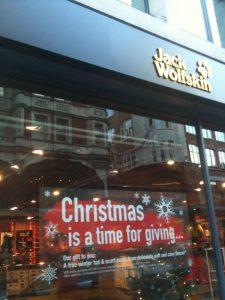 Jack Wolfskin Covent Garden Store