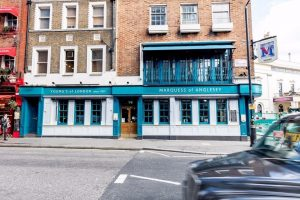 Marquess of Anglesey Covent Garden Pub