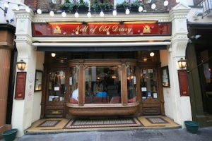 Nell of Old Drury Covent Garden Pub
