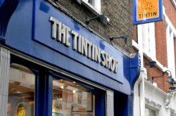 Tintin Shop Covent Garden Store