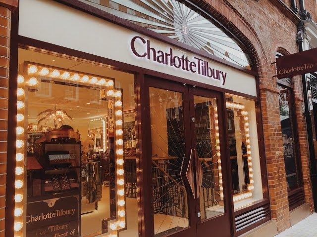 Charlotte Tilbury Covent Garden London