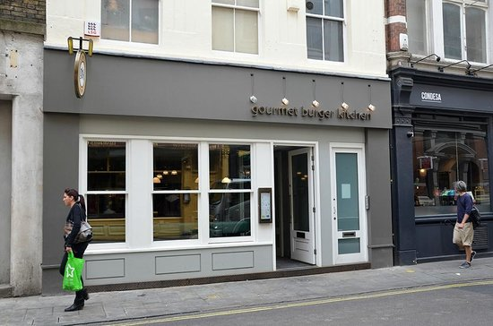 Gourmet Burger Kitchen Covent Garden Review