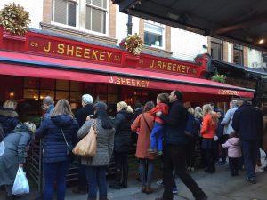 J Sheekey Restaurant and Atlantic Bar Covent Garden Restaurant