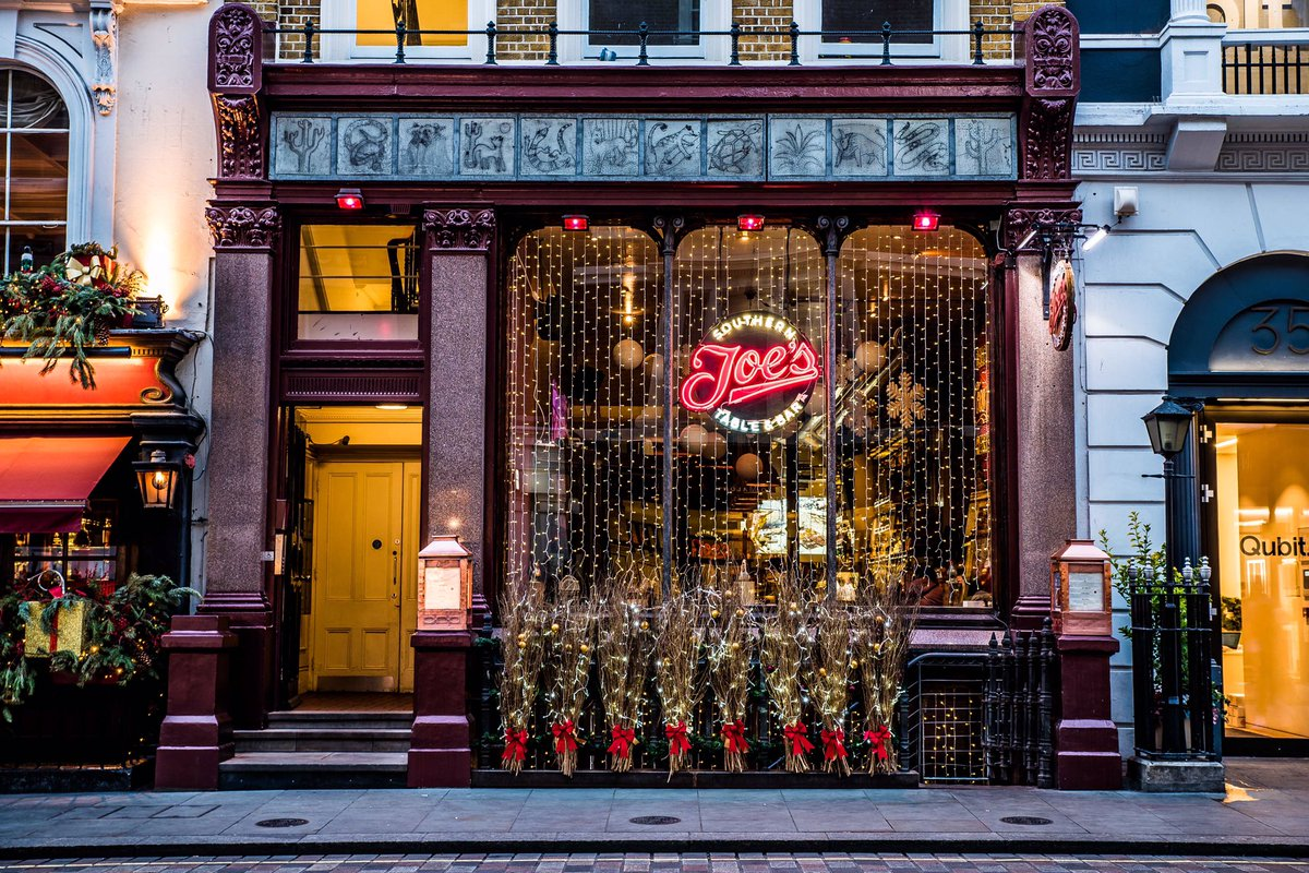 Joe\'s Southern Table and Bar – Covent Garden London