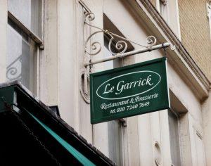 Le Garrick Covent Garden French Restaurant