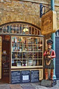 Segar and snuff parlour Covent Garden Store