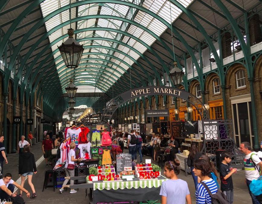 Apple Market Covent Garden London