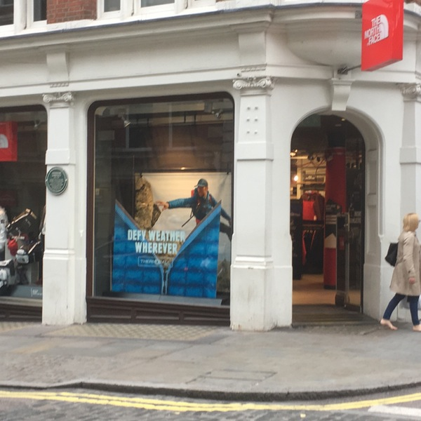 North Face Store – Covent Garden London