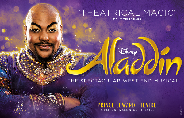 Aladdin Disneys New Musical At The Prince Edward Theatre Covent